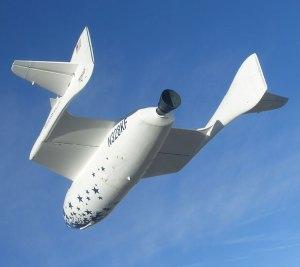 L'astronave in planata