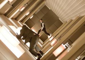 Una scena tratta da Inception.