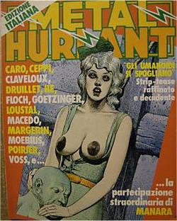 L'edizione italiana di Metal Hurlant
