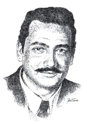 Giorgio Monicelli (illustrazione di Giuseppe Festino)