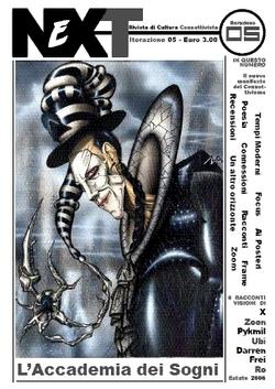 La copertina del numero 5 di NeXT