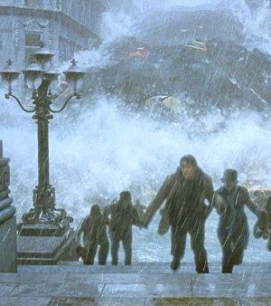 Lo tsunami sta allagando New York