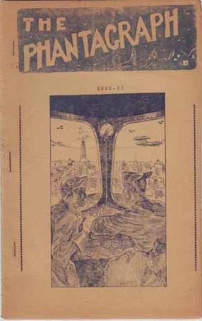 Un numero del 1936 della fanzine <i>The Phantagraph</i>