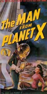 <i>The man from planet X</i>