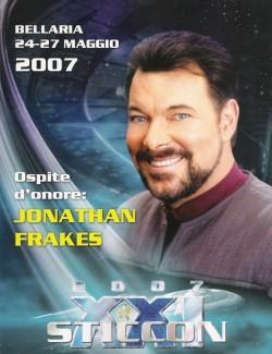 Il poster della Sticcon 2007