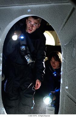 Chris Evans, Cillian Murphy in <i>Sunshine</i>