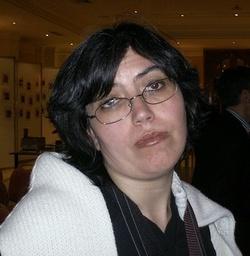 Selene Verri in un momento di entusiasmo incontenibile