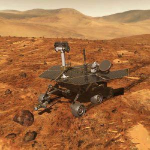 """Rispetto al """"vecchio"""" Sojourner, Spirit e Opportunity sono davvero <i>The Next Generation</i> dei rover, come si vede in quest'illustrazione artistica."""