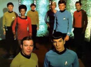 Il cast completo della seria classica di Star Trek
