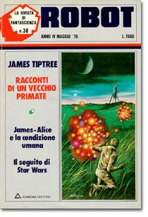 """James Tiptree """"Racconti di un vecchio primate"""""""
