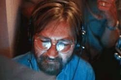 Il regista Tobe Hooper