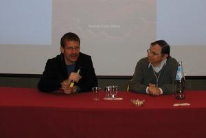 A sinistra Francesco Toccoli e a destra Lanfranco Fabriani