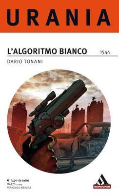 La copertina de L'Algoritmo bianco di Dario Tonani