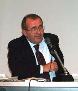 Ernesto Vegetti al Festival di Trieste, settembre 2001