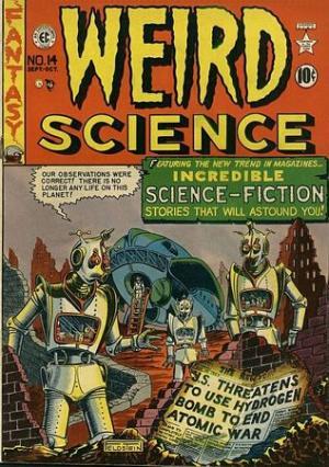 Una copertina dell'edizione americana di Weird Science