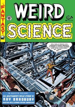 La copertina del numero 4 di Weird Science della 001 Edizioni