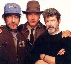 Steven Spielber, Harrison Ford e George Lucas