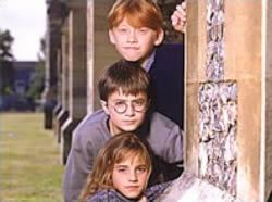 Una scena da <i>Harry Potter and the Chamber of Secrets</i>