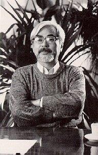 Il 62enne regista giapponese Hayao Miyazaki, tornato al lavoro dopo una grave depressione dovuta a problemi di vista.