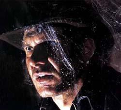 Indiana Jones dopo un incontro con Spider-Man