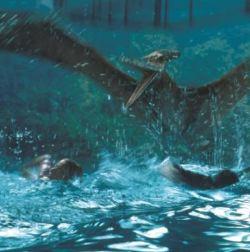 Una scena di <i>Jurassic Park III</i>, al momento ultimo capitolo della serie, realizzato nel 2001.