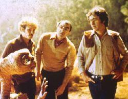 ET, Carlo Rambaldi e Steven Spielberg