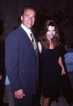 Arnold Schwarzenegger con la moglie Maria Shriver