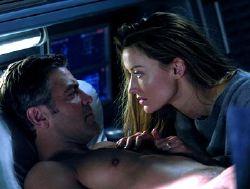 George Clooney e Natasha McElhone