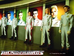 Un'immagine da <i>Thunderbirds</i>. Durante lo SciFi Day verrà regalato un dvd con materiale speciale da questo film, in uscita in Italia a ottobre.