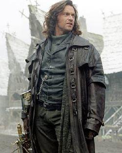 Hugh Jackman nella parte di Van Helsing