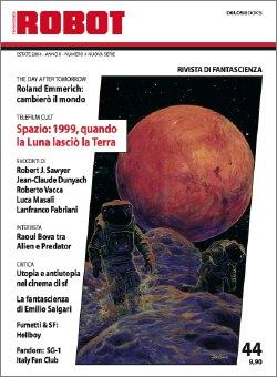 La bella copertina di Giuseppe Festino ispirata a <i>Mikeys</i>, acconto del premio Hugo Robert J. Sawyer