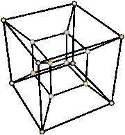 La proiezione di un tesseratto