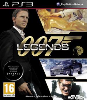 La copertina di 007 LEgends in versione Ps3