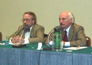Eugenio Ragone (a sinistra) e Vittorio Catani