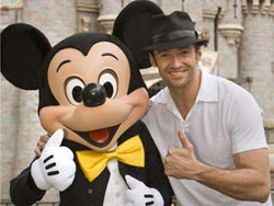 Mickey Mouse e Wolverine