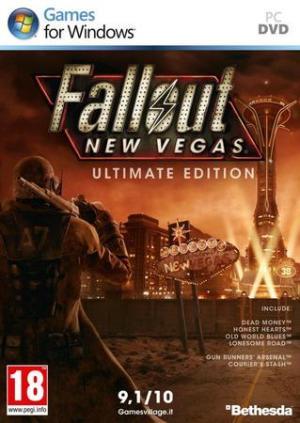 La copertina di Fallout: New Vegas - Ultimate Edition