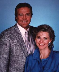Lee Majors e Lindsay Wagner