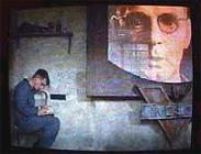 Un fotogramma tratto da Orwell 1984, di Michael Radford.