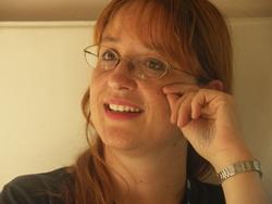 Elisabetta Vernier all'Eurocon di Copenhagen - Foto di Roberto Quaglia