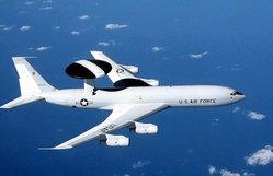 Gli E-3 Sentry AWACS che hanno pattugliato il confine americano