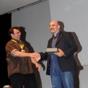 Paul Di Filippo premia Silvio Sosio