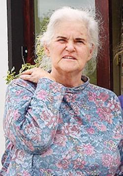 Anne McCaffrey in una foto recente