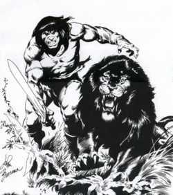 Conan in versione Buscema