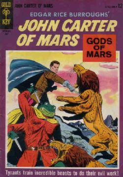 La copertina di un fumetto americano della metà degli anni '60 ispirato al personaggio creato dall'autore di Tarzan.