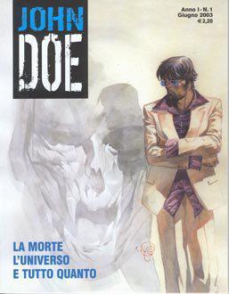La copertina della nuova serie a fumetti italiana.