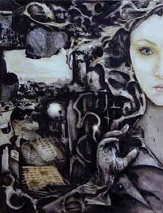 La copertina di Ursula Equizzi per <i>Sine Requie La Creazione</i>
