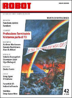 La copertina di Robot 42 è di Giuseppe Festino.