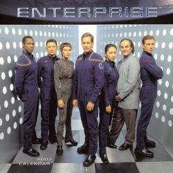 Il calendario del 2003 di Enterprise. La possibilità che mancassero le pagine dopo il mese di giugno sembra scongiurata: Enterprise andrà avanti anche la prossima stagione.