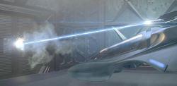 La nave Scorpion in una scena del film <i>Star Trek - La Nemesi</i>