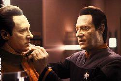 Data e B9 in <i>Star Trek Nemesis</i>